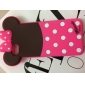 Cute Cartoon Doll Pattern Silicone Soft Case for iPhone 5/5S (Assorted Color)