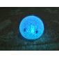 Улыбающийся ночной светильник из кристаллов (горит разными цветами)