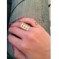Fashion Beautiful Gold Hollow Out Alloy Ring(Random Color)