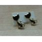 Stud Earrings Alloy Animal Shape Cat Jewelry For Daily