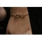 Femme Bracelets Rigides Cuivre Alliage Forme de Cercle Infini Bijoux Pour Mariage Soirée Quotidien Décontracté Sports