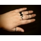Women's Band Rings Love Heart European Alloy Jewelry Party Daily Casual