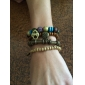 Fashion Bohemia Style Vintage Strand Women's Bronze Alloy Wrap Bracelet(1 Pc)
