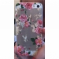 Exquisite Design Flower Pattern Hard Cover Case for iPhone 5/5S