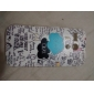 Ok Letter Puzzle Cartoon Pattern Plastic Hard Case for Motorala Moto G