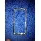 Кейс для Назначение Кейс для iPhone 5 Стразы Бампер Сплошной цвет Твердый PC для iPhone SE/5s iPhone 5