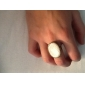 Ring Party / Casual Jewelry Alloy / Rhinestone Women Statement Rings 1pc,Adjustable White