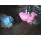 Cães Camisola com Capuz Azul / Rosa Roupas para Cães Inverno Cor Única
