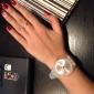 Femme Montre Tendance Montre Décontractée Montre Bracelet Quartz Coloré Silikon Bande Pour tous les jours Noir Blanc Bleu Rose Violet