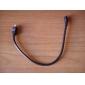 0.3m um pé mini-USB 2.0 macho para macho cabo micro USB 2.0