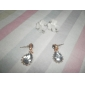 Women's Drop Earrings Unique Design Costume Jewelry Simple Style Rhinestone Alloy Animal Shape Butterfly Jewelry For Party Daily