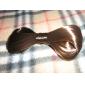 Tecido Presilha de Cabelo Preto Café