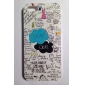 OKay Carta enigma Padrão Hard Case para iPhone 5/5S