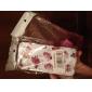 Назначение Чехлы панели С узором Задняя крышка Кейс для Цветы Твердый Термопластик для iPhone SE/5s iPhone 5