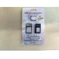 3 -에서 - 1 SIM 카드 어댑터 및 꺼내기 핀 아이폰 5, iphone4와 4S (여러 색)에 대한