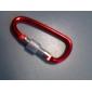 Mousquetons Durable Extérieur en alliage d'aluminium Jaune Vert Rouge Bleu Violet