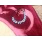 flor da moda pendente forma de couro colar (1 pc)