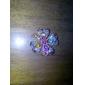 vendange fleur colorée rhinstone Broche N296 des femmes