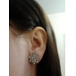 Stud Earrings Zircon Simulated Diamond Alloy Fashion Jewelry Daily