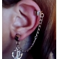 Earring Anchor Clip Earrings Jewelry Women Daily Alloy
