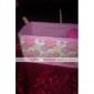 складной цветок шаблон косметики хранения подставка коробка макияж кисти горшок косметический органайзер