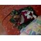Chat Chien Robe Vêtements pour Chien Cosplay Mariage Rouge Costume Pour les animaux domestiques
