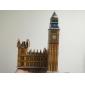 Quebra-cabeças 3D Puzzles Blocos de construção DIY Brinquedos edifícios famosos Papel Modelo e Blocos de Construção