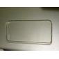 TPU transparent avec étui Retour prise de la poussière pour iPhone 5/5S (couleurs assorties)