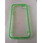 Для Кейс для iPhone 5 Сияние в темноте / Прозрачный Кейс для Задняя крышка Кейс для Один цвет Мягкий TPU iPhone SE/5s/5