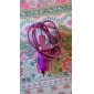 Colorful 1M Micro USB Cable Charger with Car Charger for Samsung ,HTC Mobile and Others (Assorted Colors)