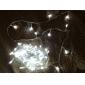 100-LED de luz Decoração 10M para o Natal Cool Party White Light Luz LED String com 8 modos de exibição (220V)