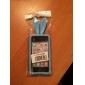 Orelhas de coelho design sólido Cor Silicone Case Voltar para o iPhone 4/4S (cores sortidas)