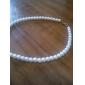 Жен. Ожерелья-бархатки Жемчужные ожерелья Y-образный Жемчуг Искусственный жемчуг Свадьба Elegant Белый Бижутерия ДляСвадьба Для вечеринок