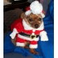 Dog Costume Dog Clothes Cute Cosplay Christmas Cartoon Red Costume For Pets
