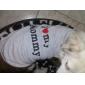Gato Cachorro Camiseta Roupas para Cães Respirável Fofo Casual Aniversário Corações Cinzento Ocasiões Especiais Para animais de estimação