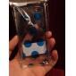 Elonbo 라운드 점 투명한 디자인 스타일 열심히 케이스 아이폰 5C (분류 된 색깔)를위한 덮개