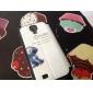 довольно модели кроликов PU кожаный чехол для всего тела с подставкой и слотом для карт Samsung Galaxy s4 i9500