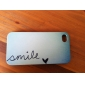 Smile Everyday Cartoon Pattern PC Hard Case for iPhone 4/4S iPhone Cases