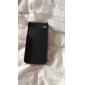 aluminium métal brossé et pc dur cas pour l'iPhone 4 / 4S