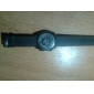 V6 Homens Relógio de Pulso Quartzo Quartzo Japonês Silicone Banda Preta