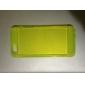 사탕 색깔 TPU 아이폰 5/5S를위한 투명한 연약한 뒤 케이스 (분류 된 색깔)