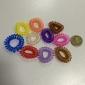 (10 pièces) Sweet multicolore silicone cravates de cheveux pour les femmes