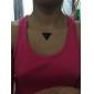 Ожерелье Ожерелья с подвесками Бижутерия Повседневные Модно Сплав / Акрил Черный 1шт Подарок