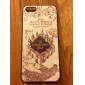 Ancient Castle Pattern Hard Case for iPhone 5/5S