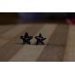 European And American Style Ocean Blue Starfish Embedded Diamond Earrings Series E10