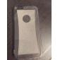 mince lueur de cristal silicone souple couverture arrière de peau de cas pour un iphone 6 (couleurs assorties)