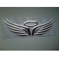 Universal 3D asas do anjo do halo Padrão Waterproof Adesivo PVC para carros
