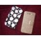 DF гладкой шелковой картины с карты мешок пу полной корпусу для iPhone 4 / 4s (разных цветов)