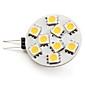 g4 led 스포트 라이트 9 smd 5050 100lm 따뜻한 흰색 2800k dc 12v