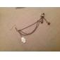 Boucles d'oreille goutte Poignets oreille Perle Imitation de perle Alliage Argent Bijoux Soirée Quotidien Décontracté